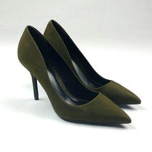 Aldo Viadien Olive Green Heels